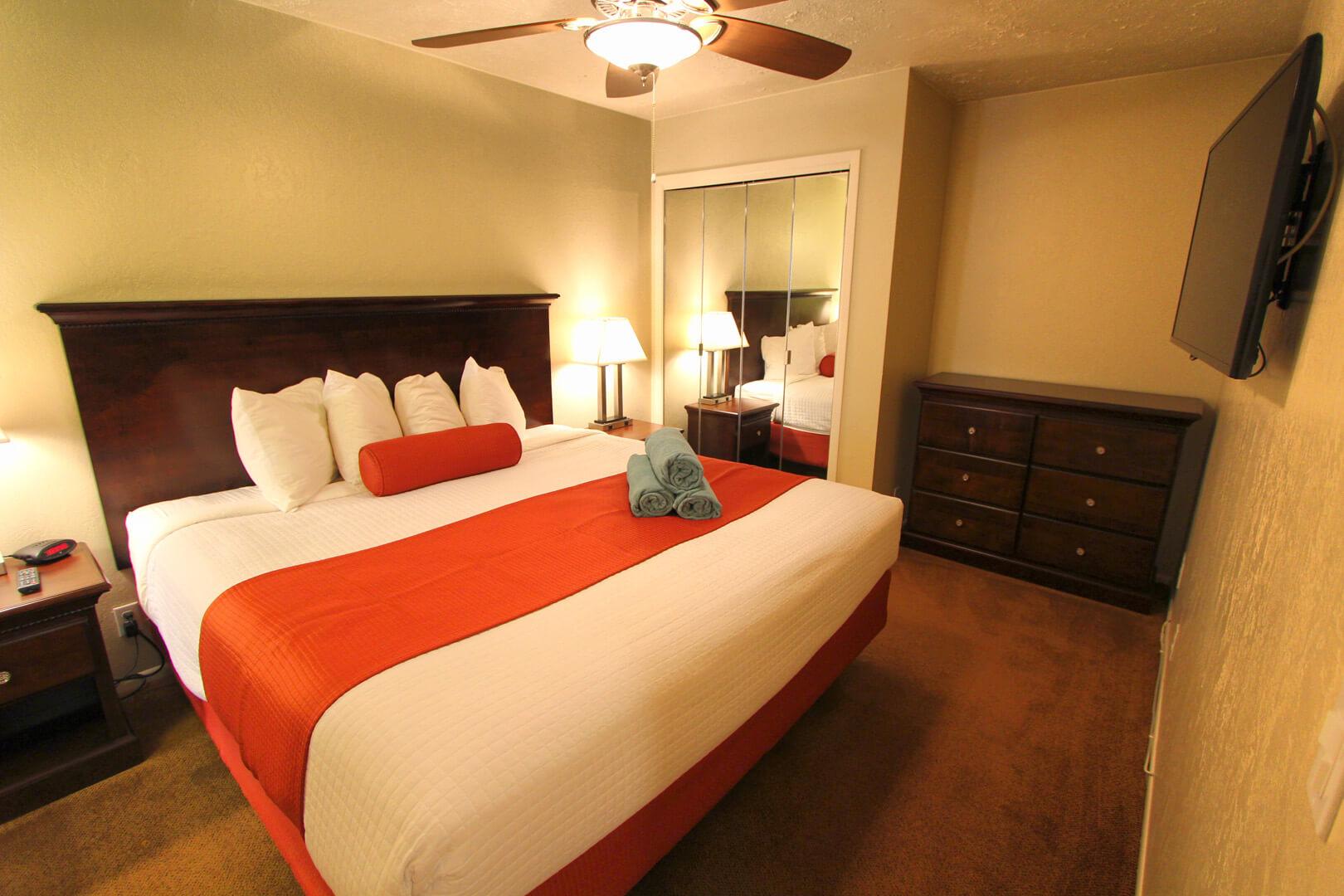 Villas At Southgate Bedroom