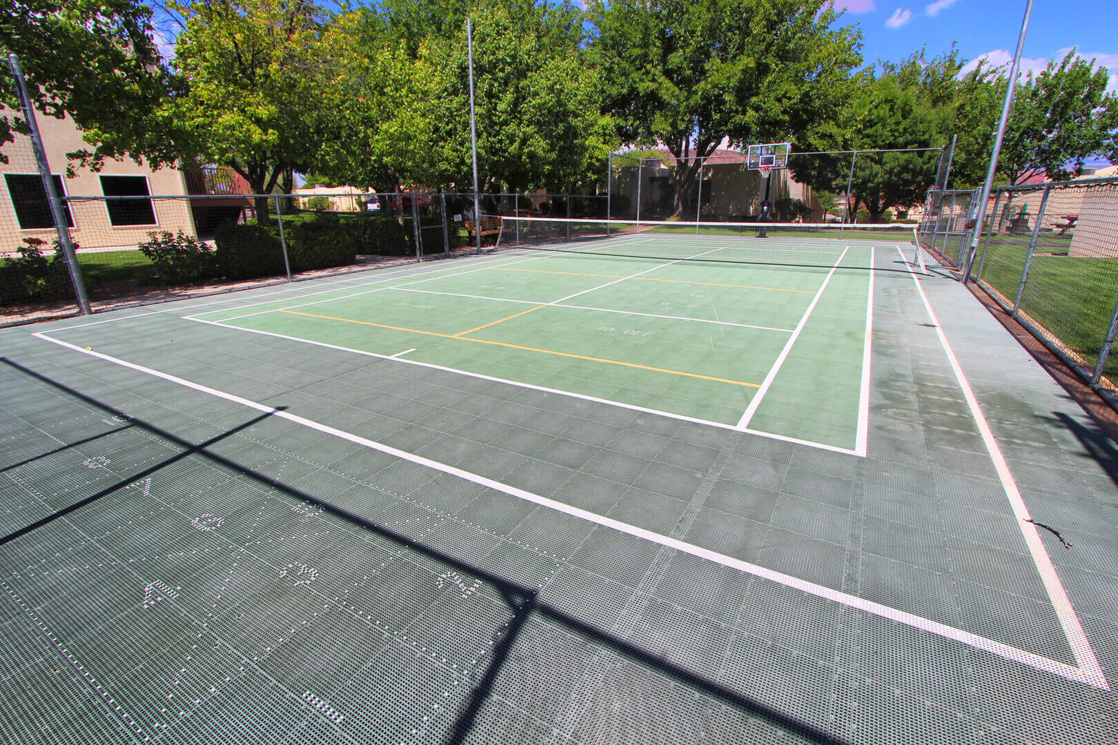 Villas At Southgate Tennis Court