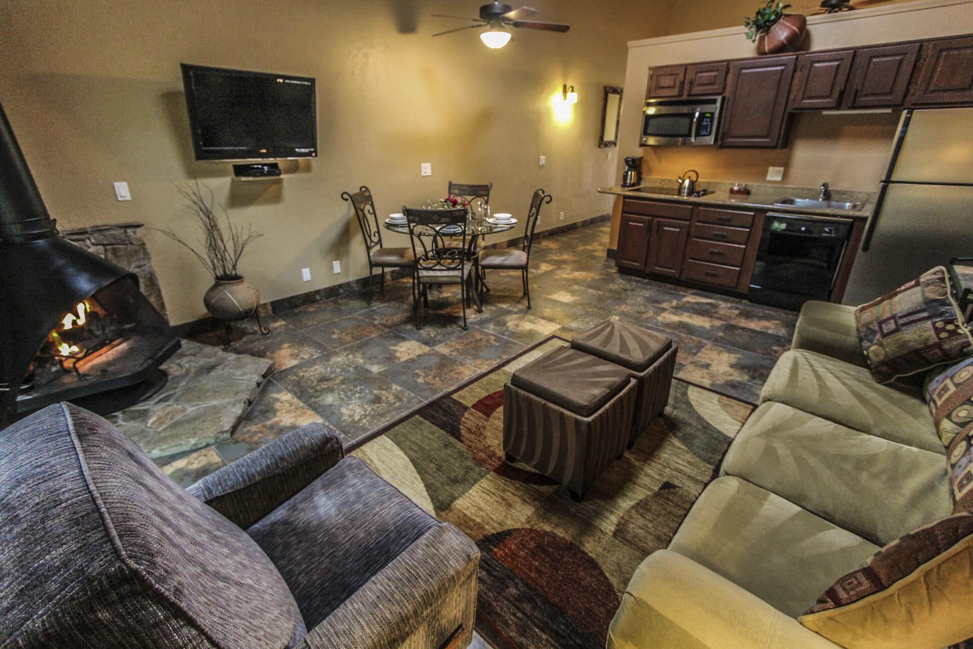 Villas At Poco Diablo Living Room