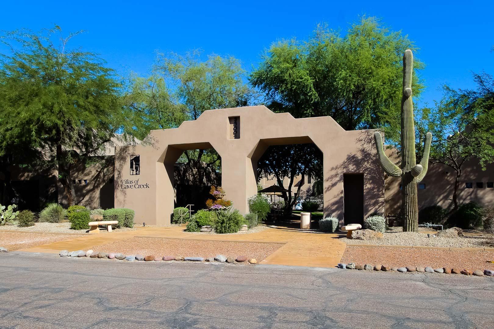Villas of Cave Creek Entrance