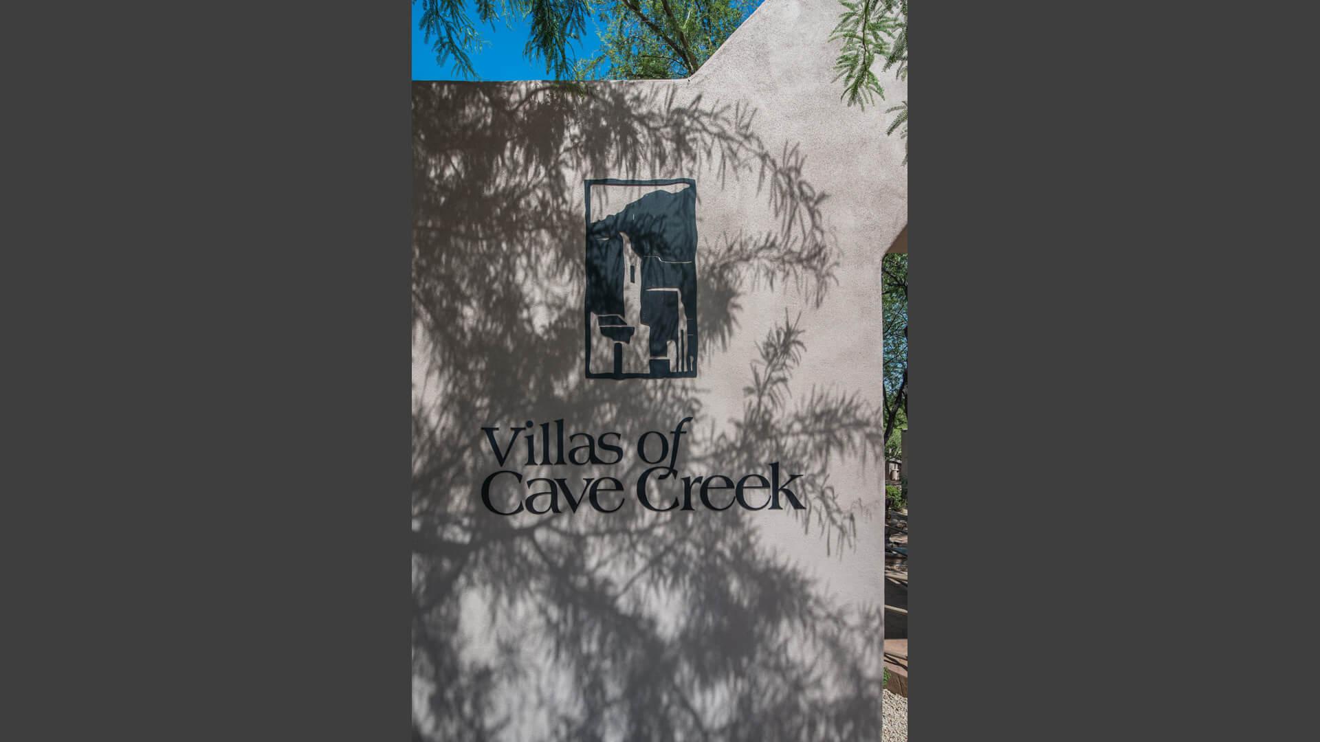 Villas Of Cave Creek Signage