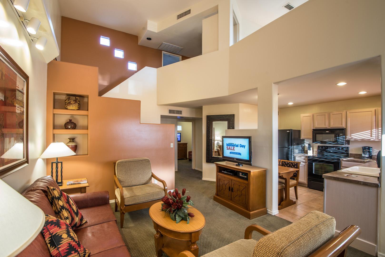 Villas Of Cave Creek Living Room