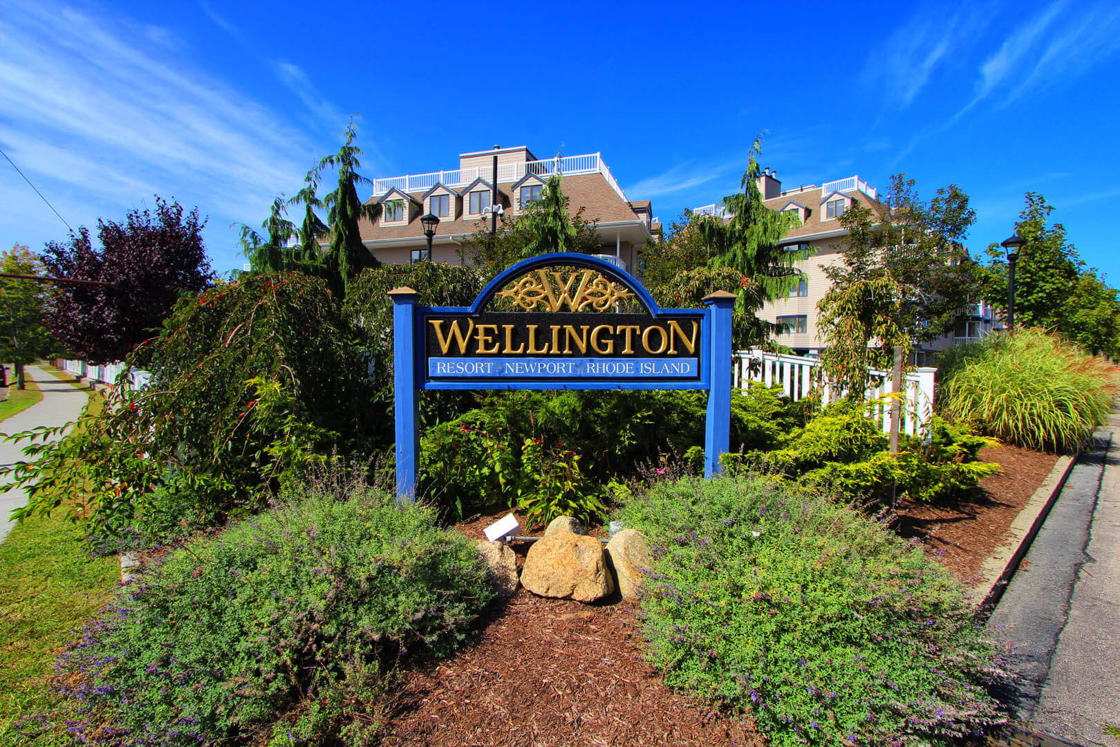 Wellington Resort Signage