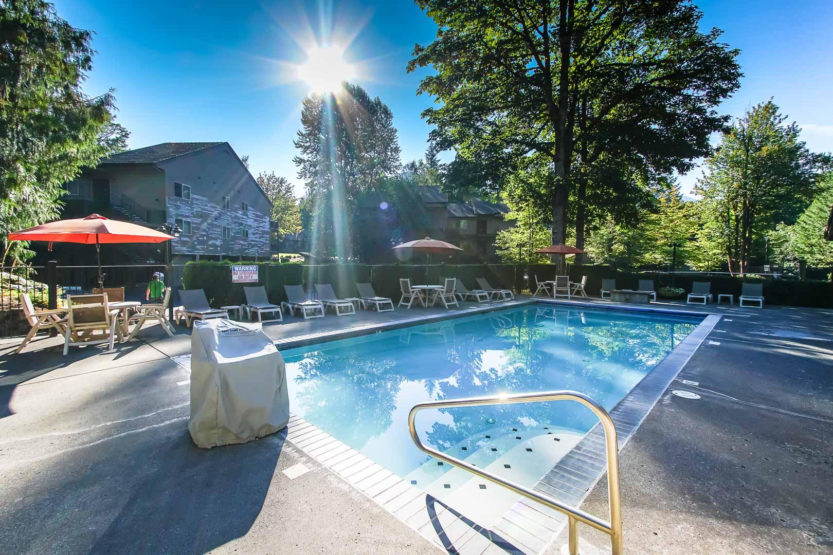 Whispering Woods- Resort Amenities - Pool