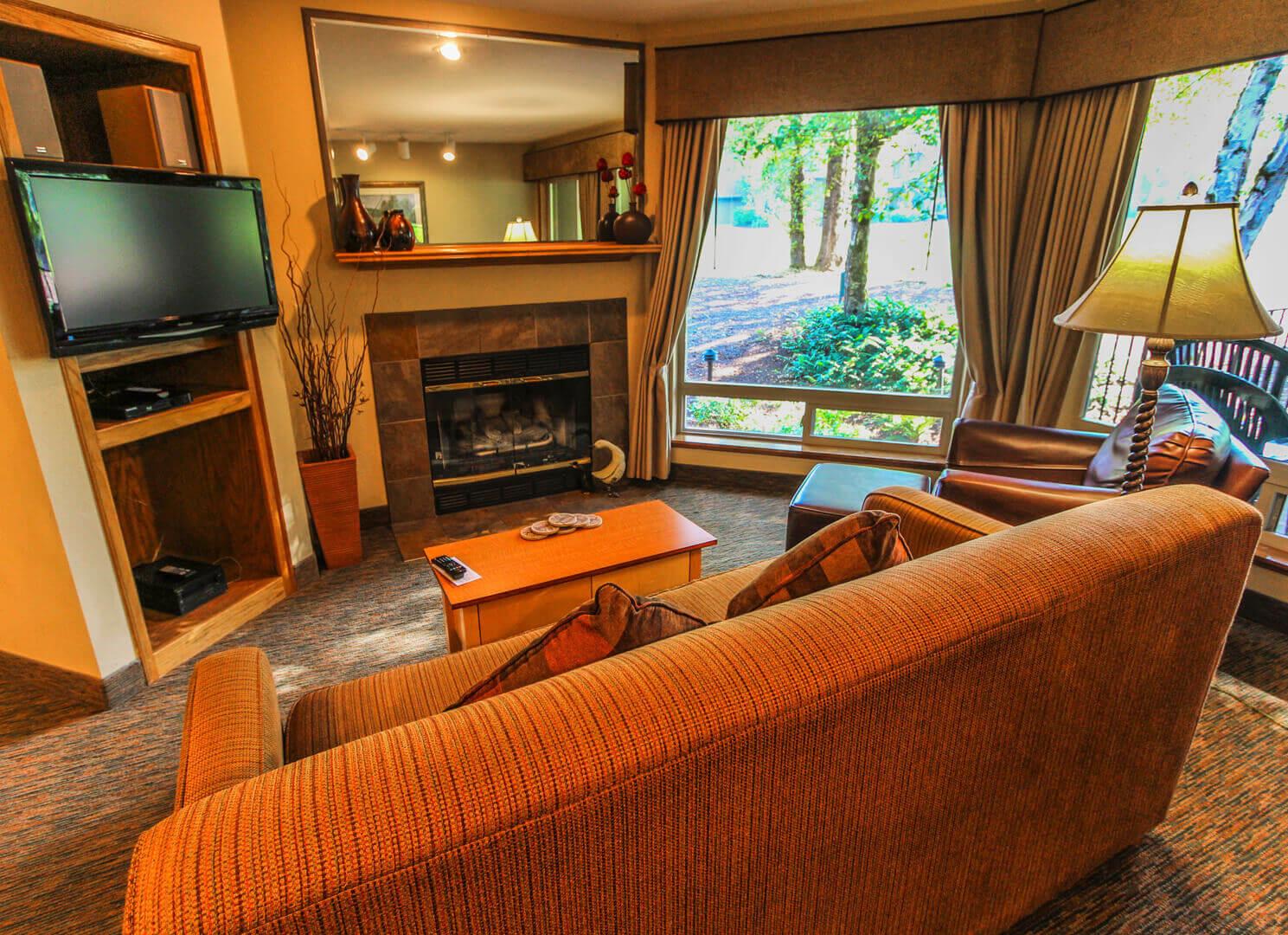 Whispering Woods Living Room