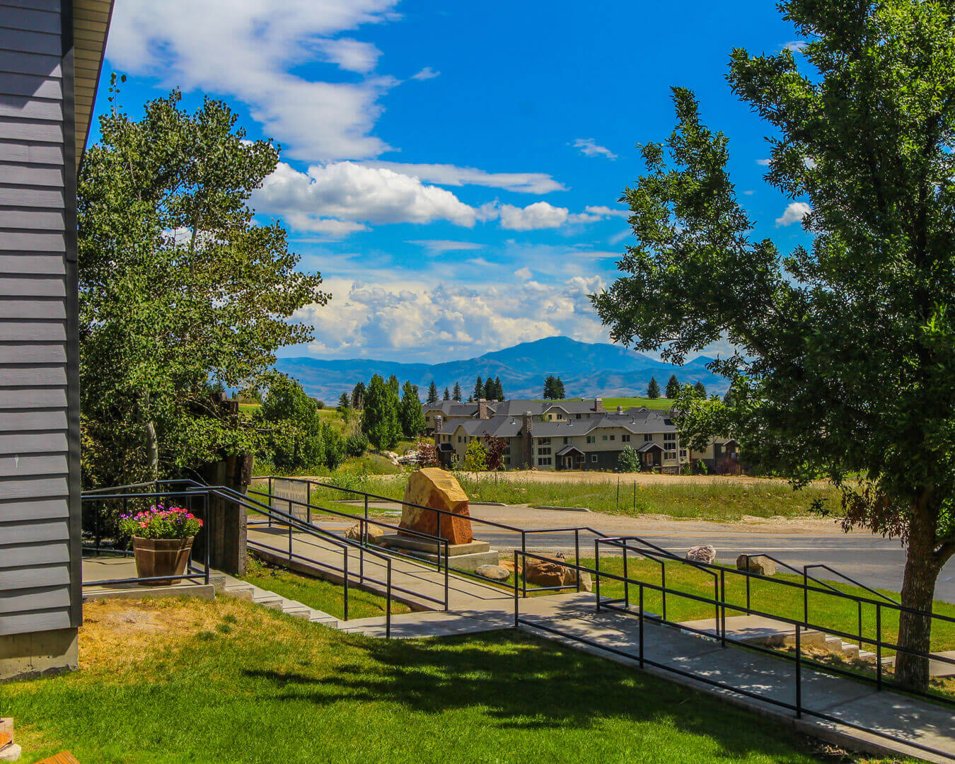 A scenic view from VRI's Wolf Creek Village I in Eden, Utah.