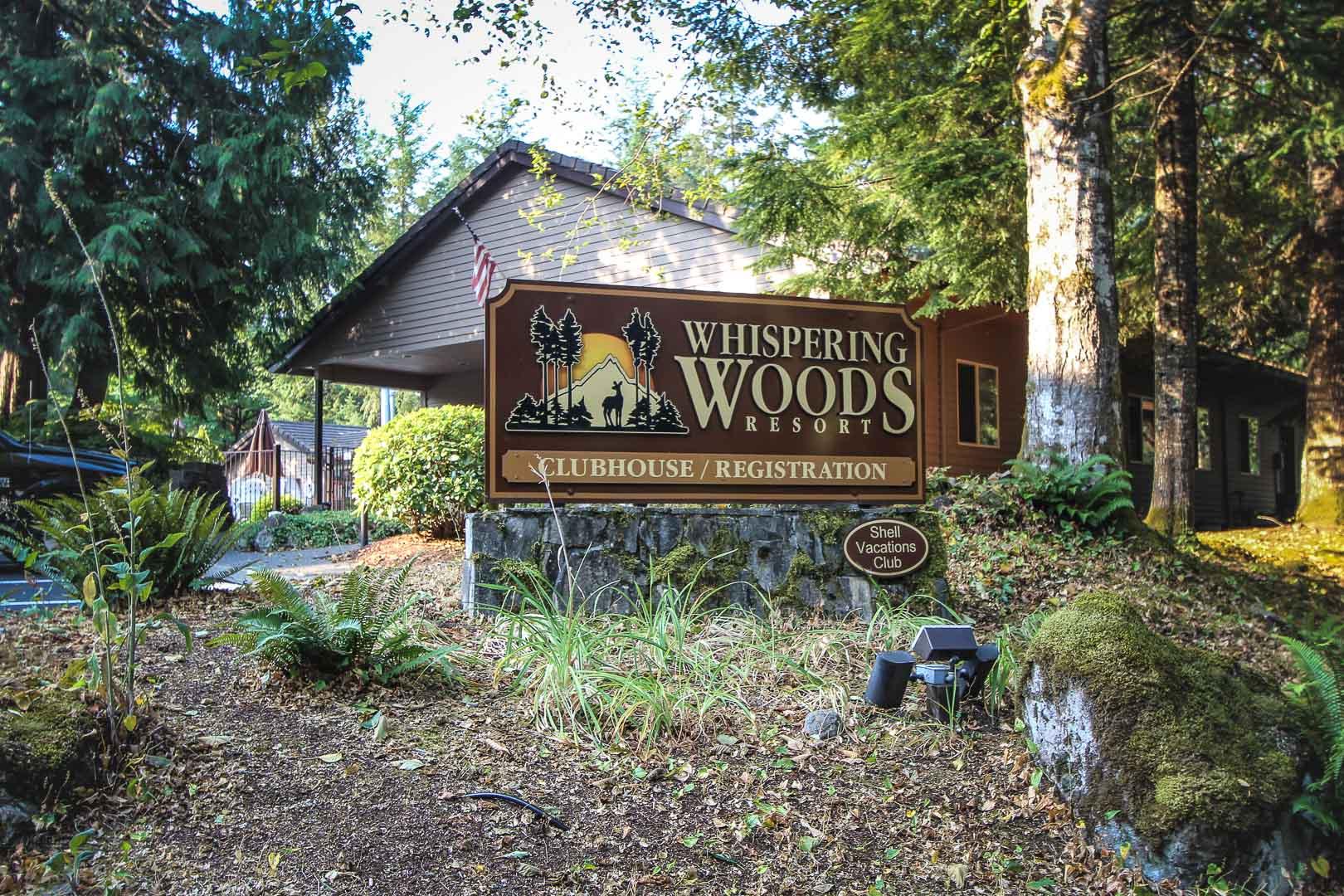 Whispering Woods- Signage
