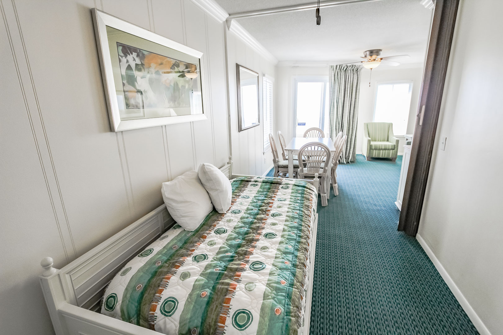 A cozy 1 and a half bedroom unit at VRI's A Place at the Beach III in North Carolina