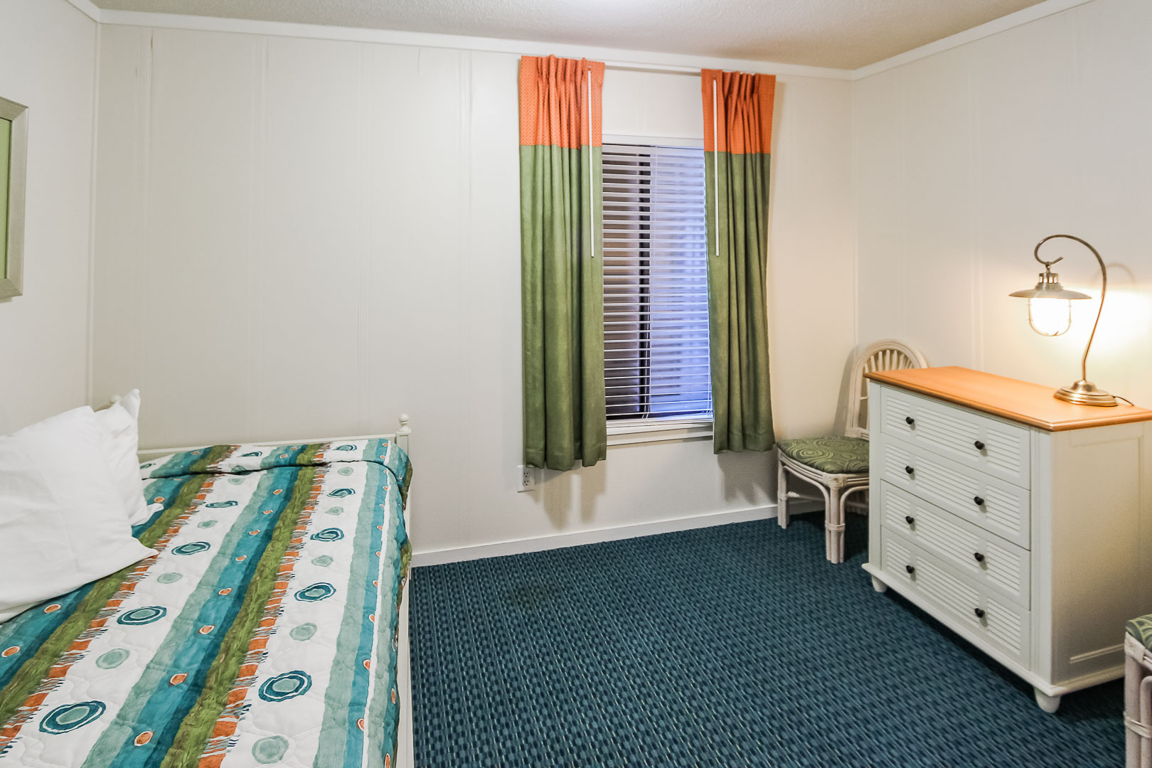 A traditional 1 and a half bedroom unit at VRI's A Place at the Beach III in North Carolina