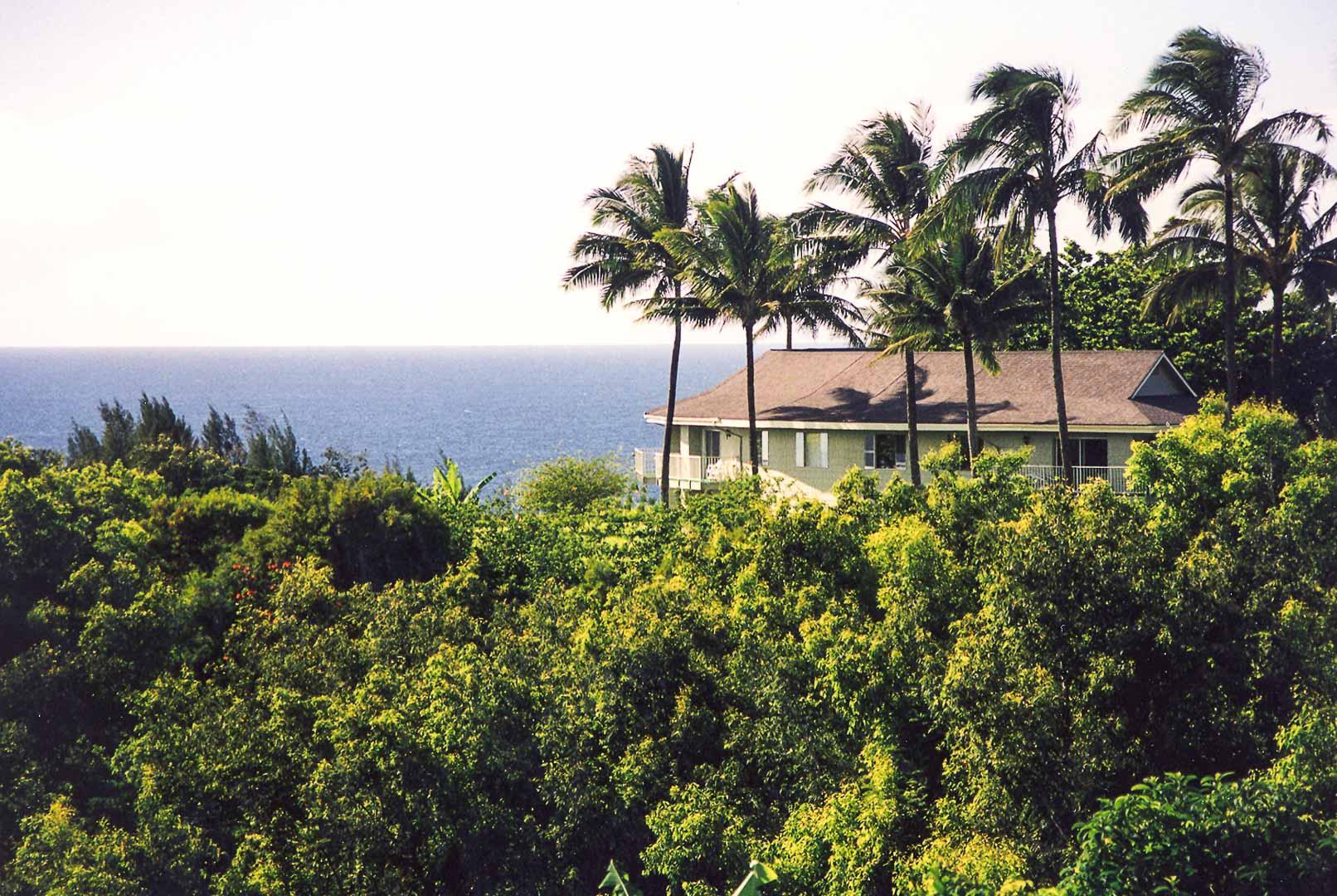 A quaint ocean view from VRI's Alii Kai Resort in Hawaii