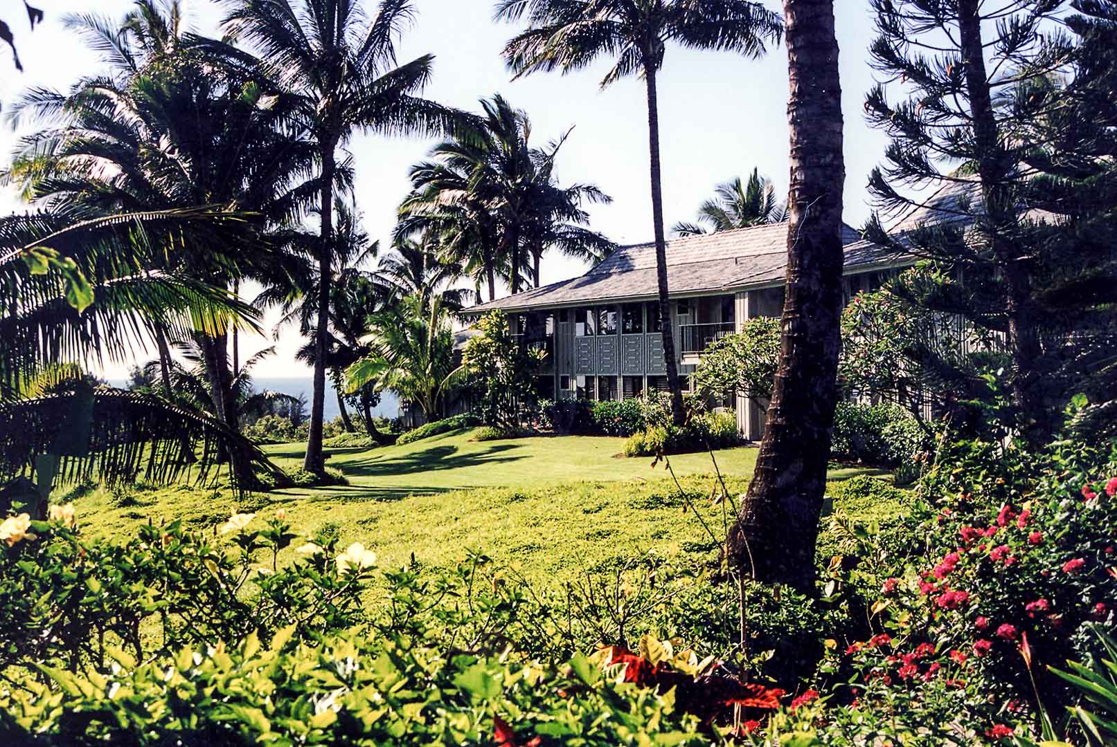 The colorful landscape at VRI's Alii Kai Resort in Hawaii