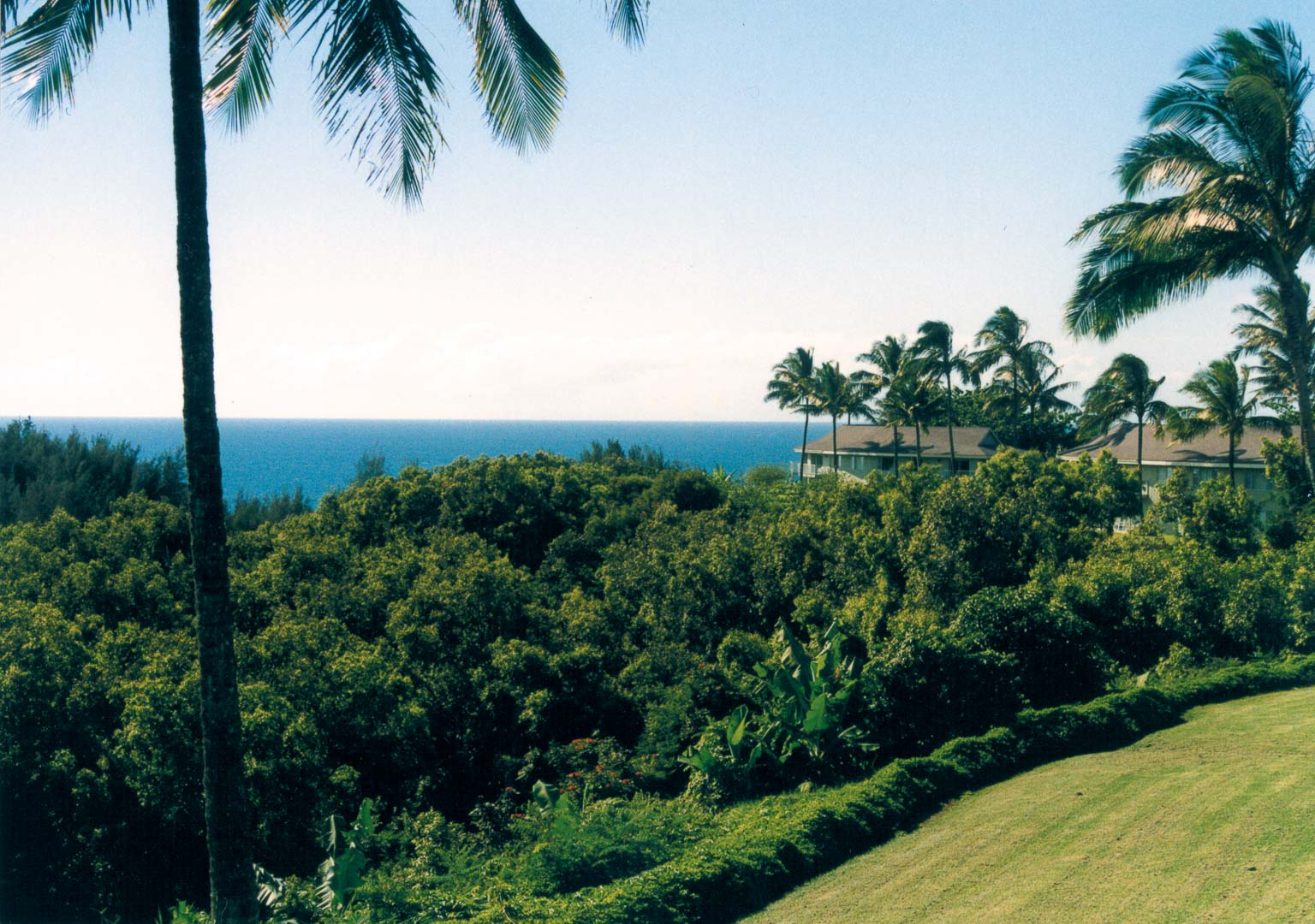 A scenic ocean view from VRI's Alii Kai Resort in Hawaii