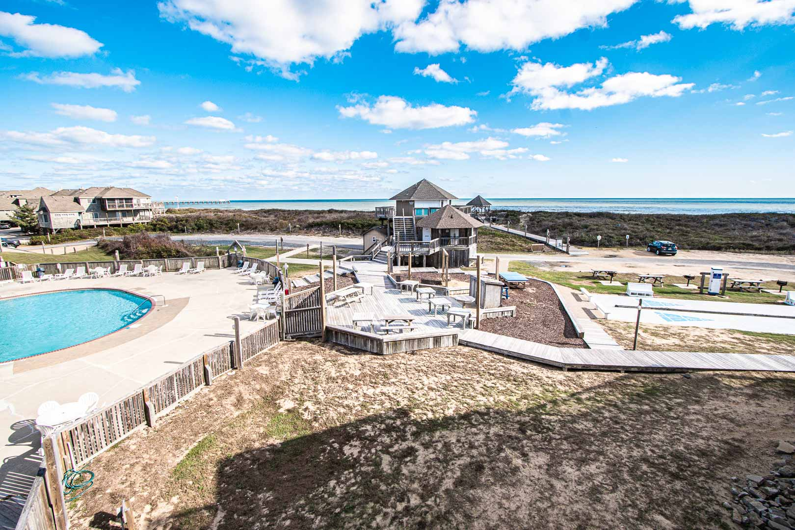 The beautiful view at VRI's Barrier Island Station in North Carolina.