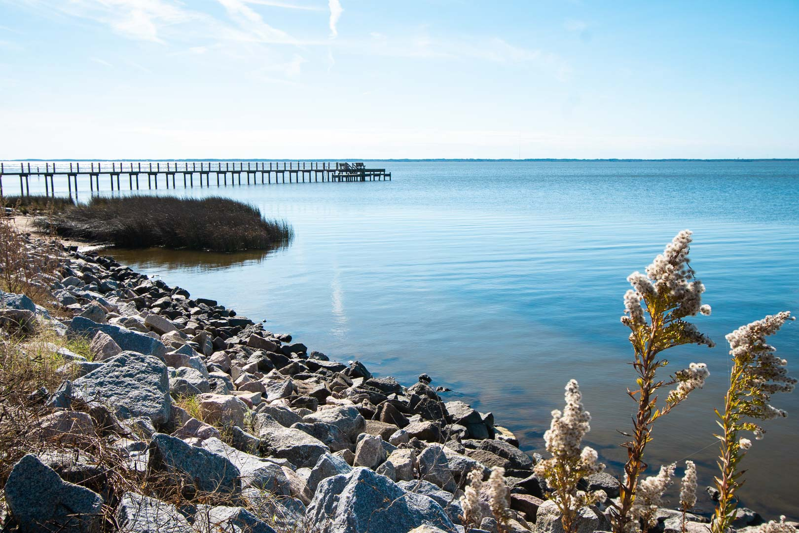 A relaxing view at VRI's Barrier Island Station in North Carolina.