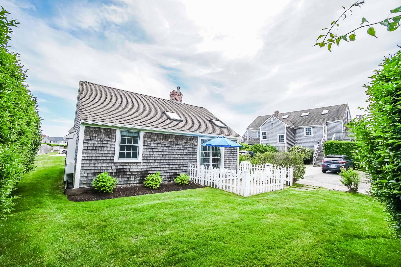A pleasant condominium at VRI's Beachside Village Resort in Massachusetts.