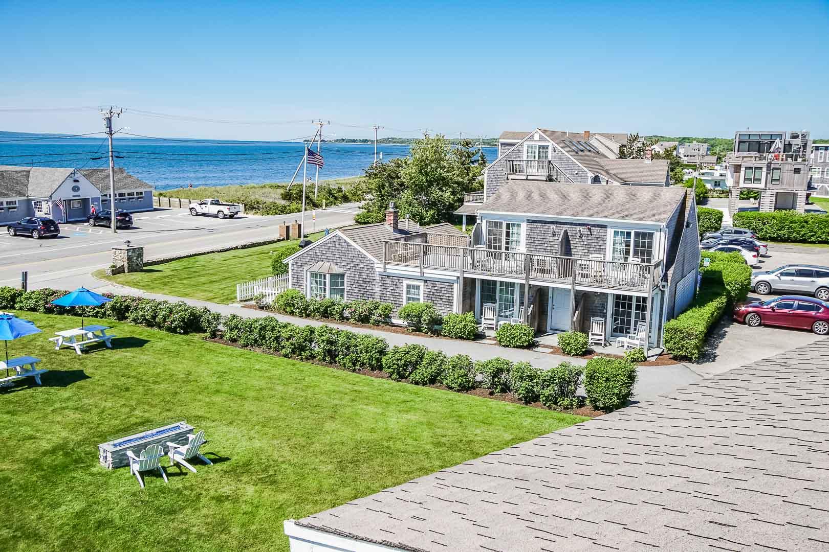 A calming view from VRI's Beachside Village Resort in Massachusetts.