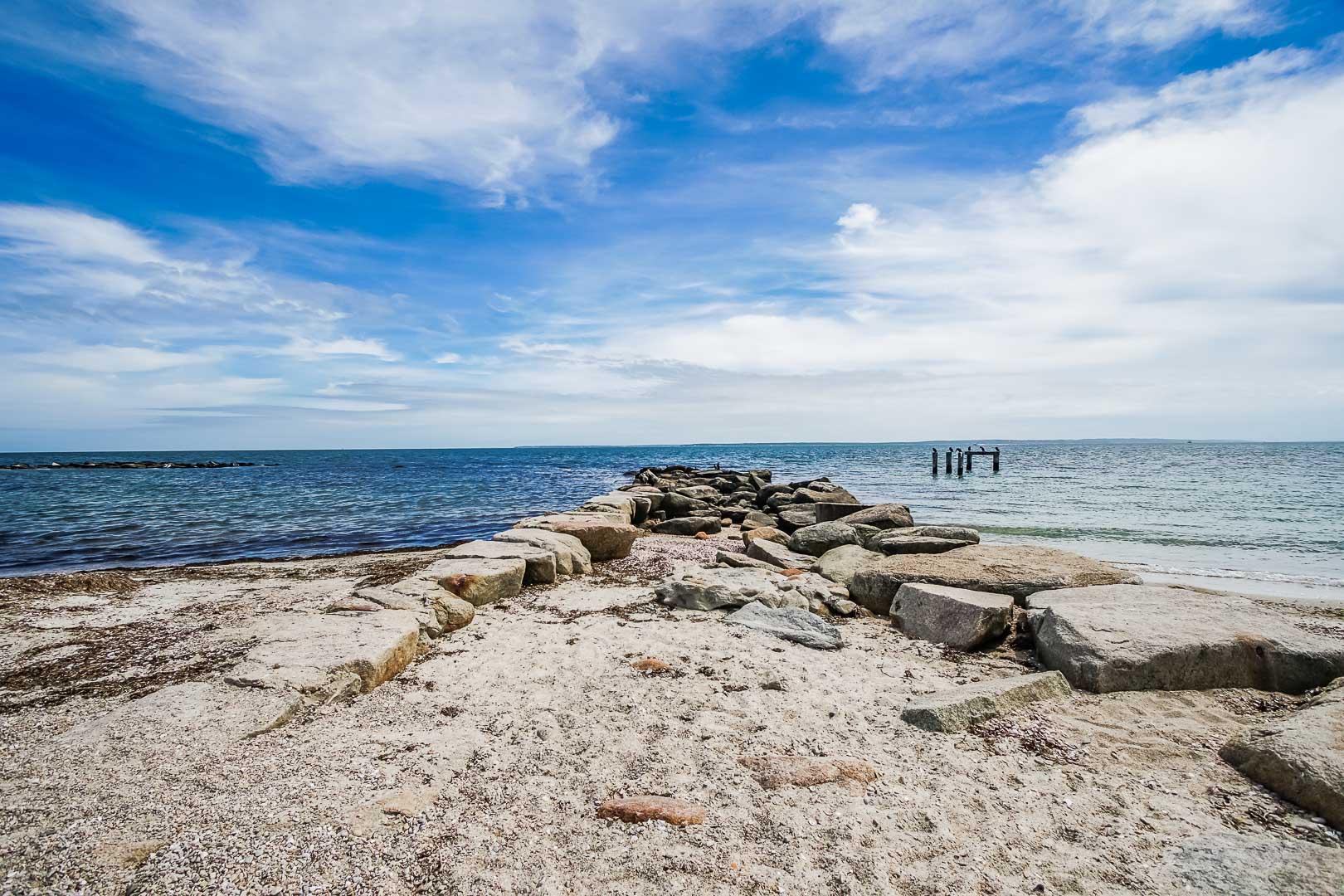 A scenic view from VRI's Beachside Village Resort in Massachusetts.