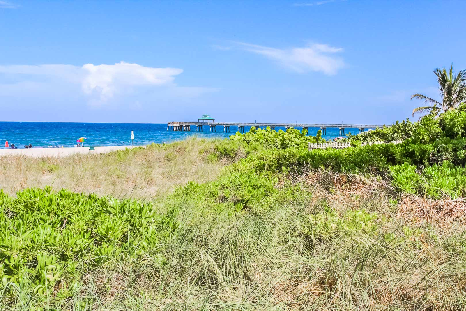 A scenic ocean view from VRI's Berkshire Beach Club in Florida