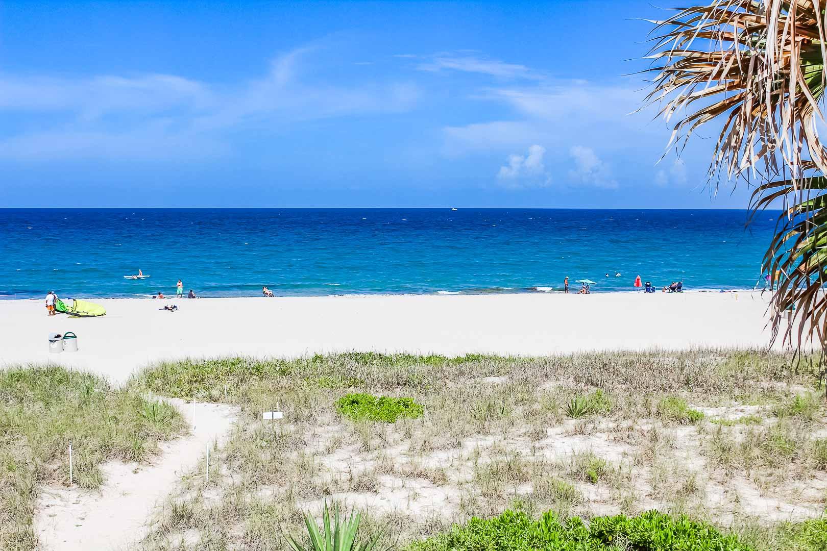 The pristine view from VRI's Berkshire Beach Club in Florida