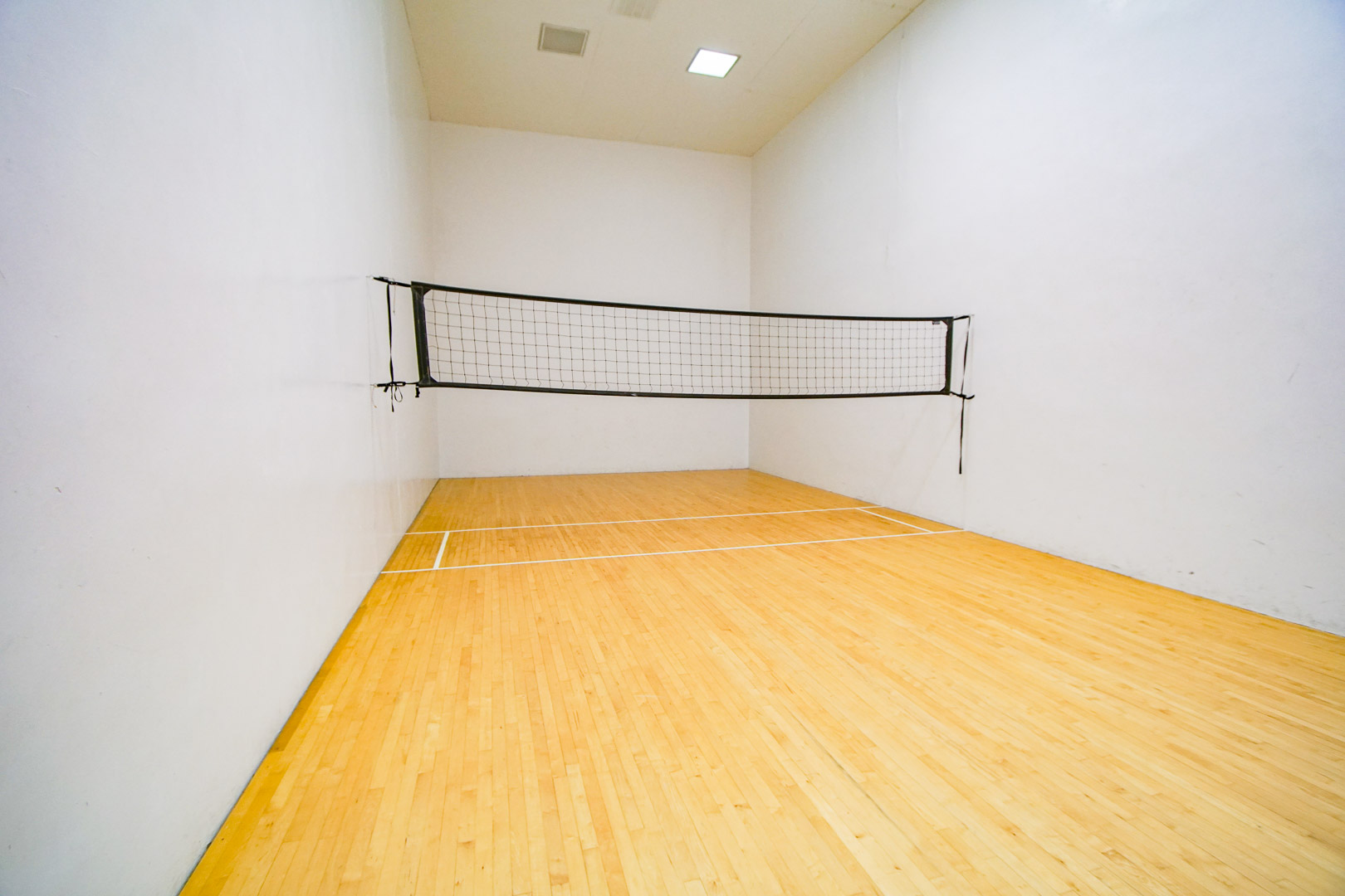 Indoor racquetball courts available at VRI's Brewster Green Resort in Massachusetts.