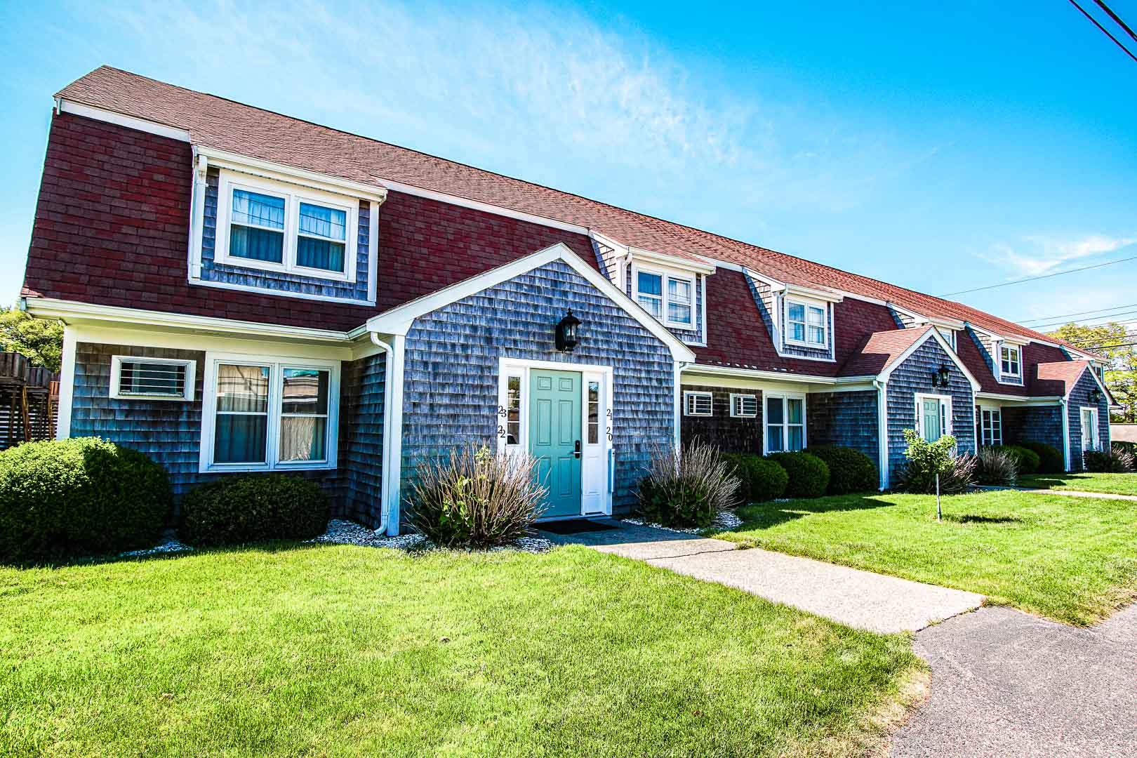 The beautiful condominiums at VRI's Cape Winds Resort in Massachusetts.
