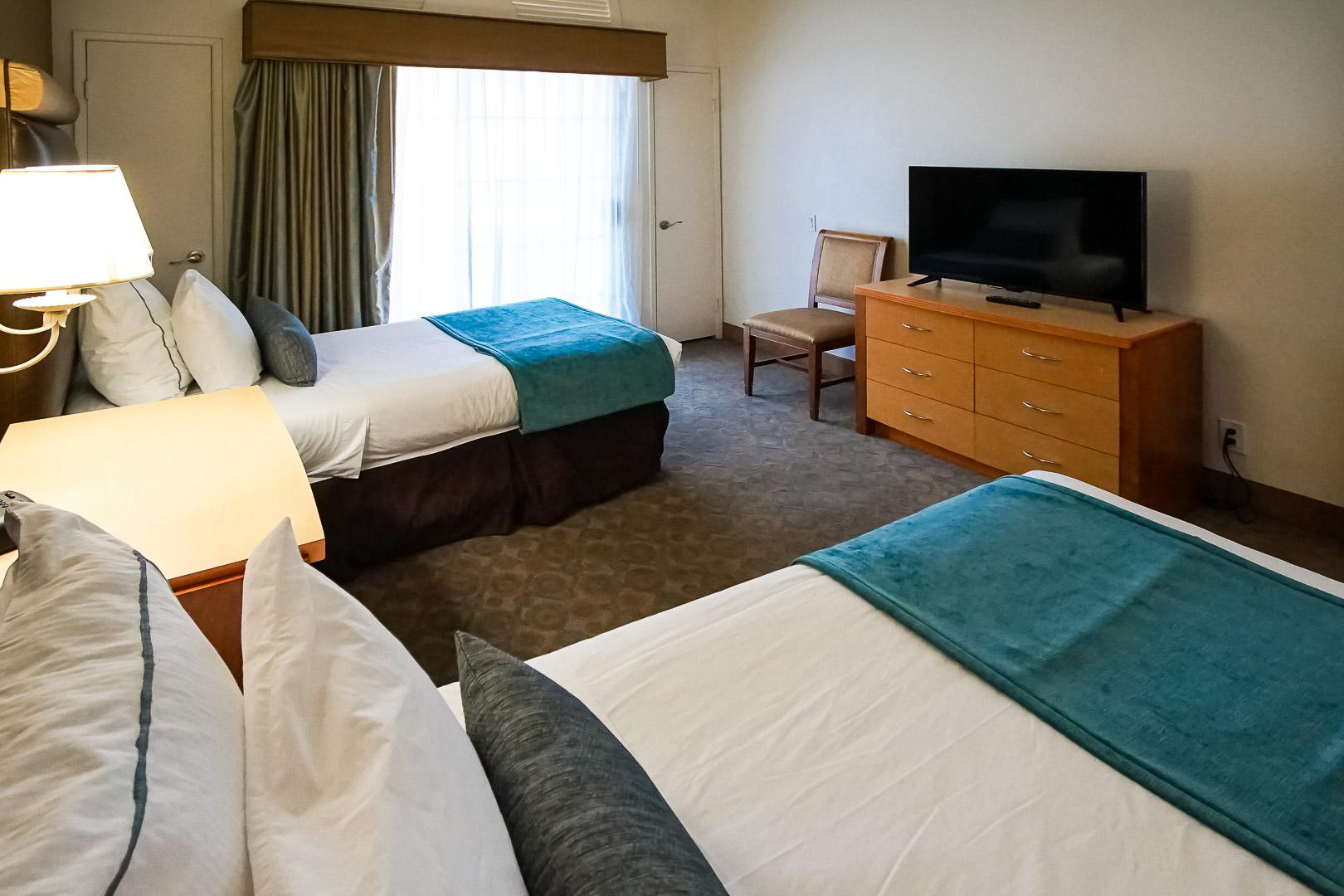 The pleasant 2 bedroom unit at VRI Americas' Desert Breezes Resort in California