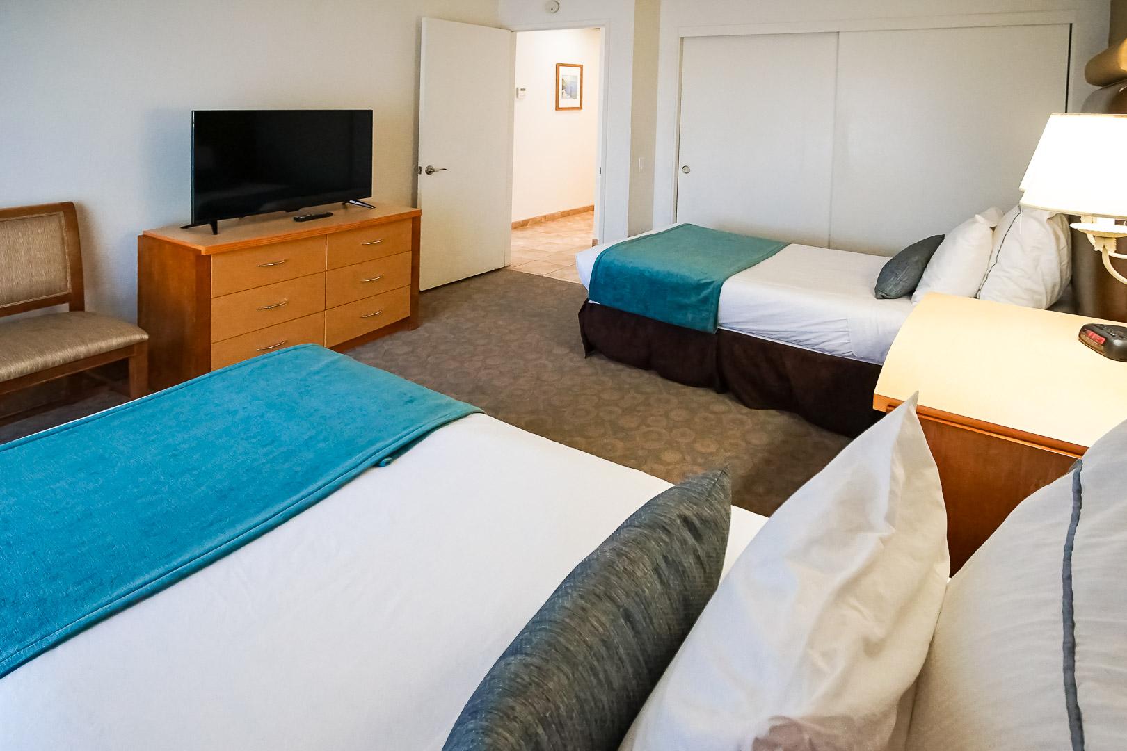 A spacious 2 bedroom unit at VRI Americas Desert Breezes Resort in California