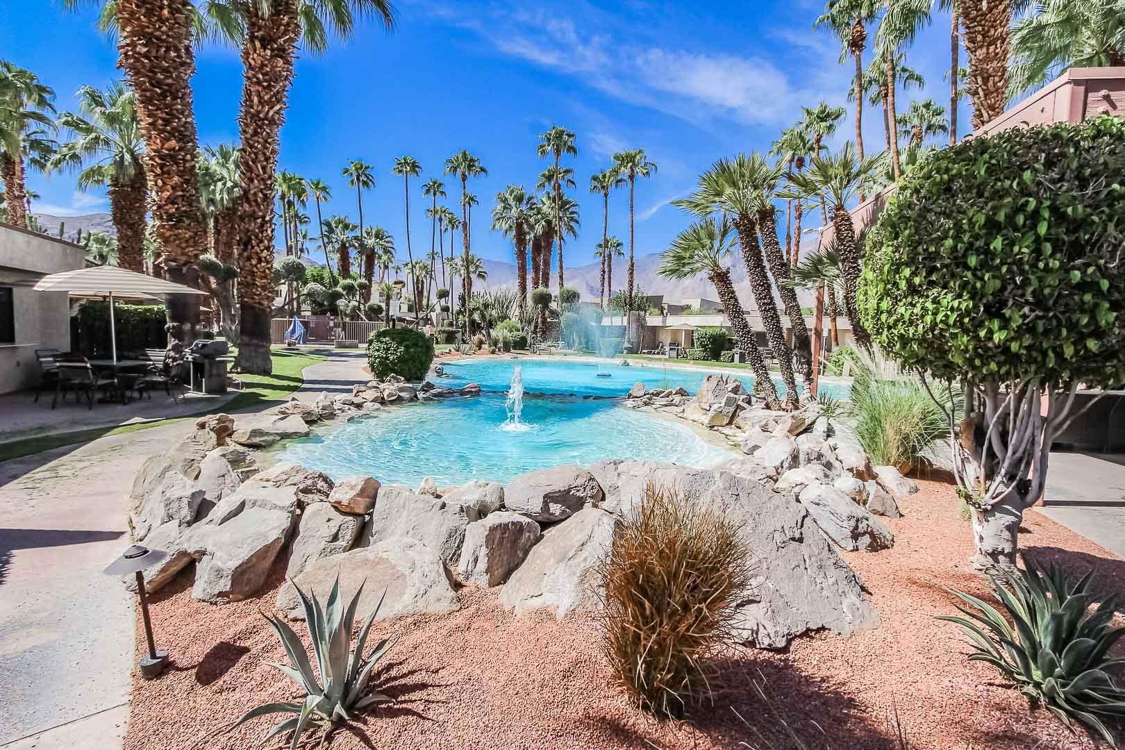 A beautiful desert view at VRI's Desert Isle Resort in California.