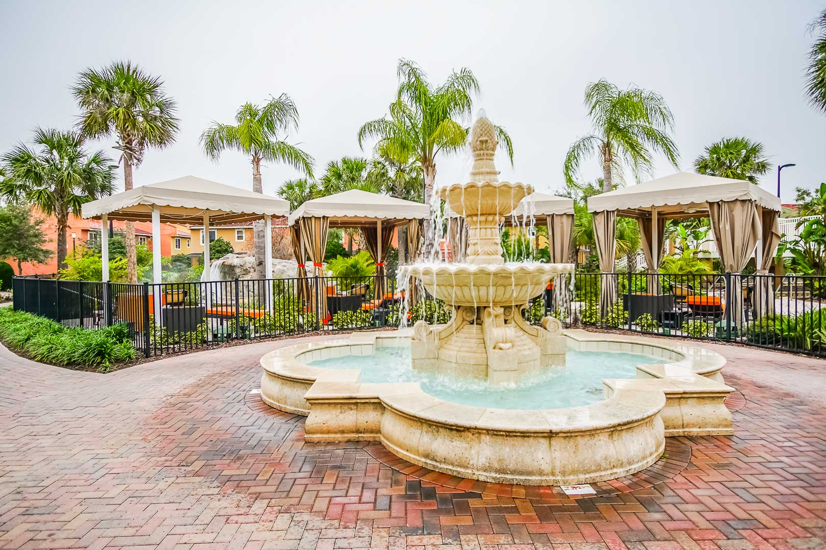 A beautiful outside view at VRI's Fantasy World Resort in Florida.