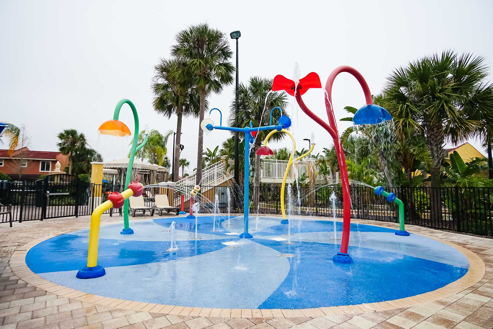 A colorful kids play area at VRI's Fantasy World Resort in Florida.