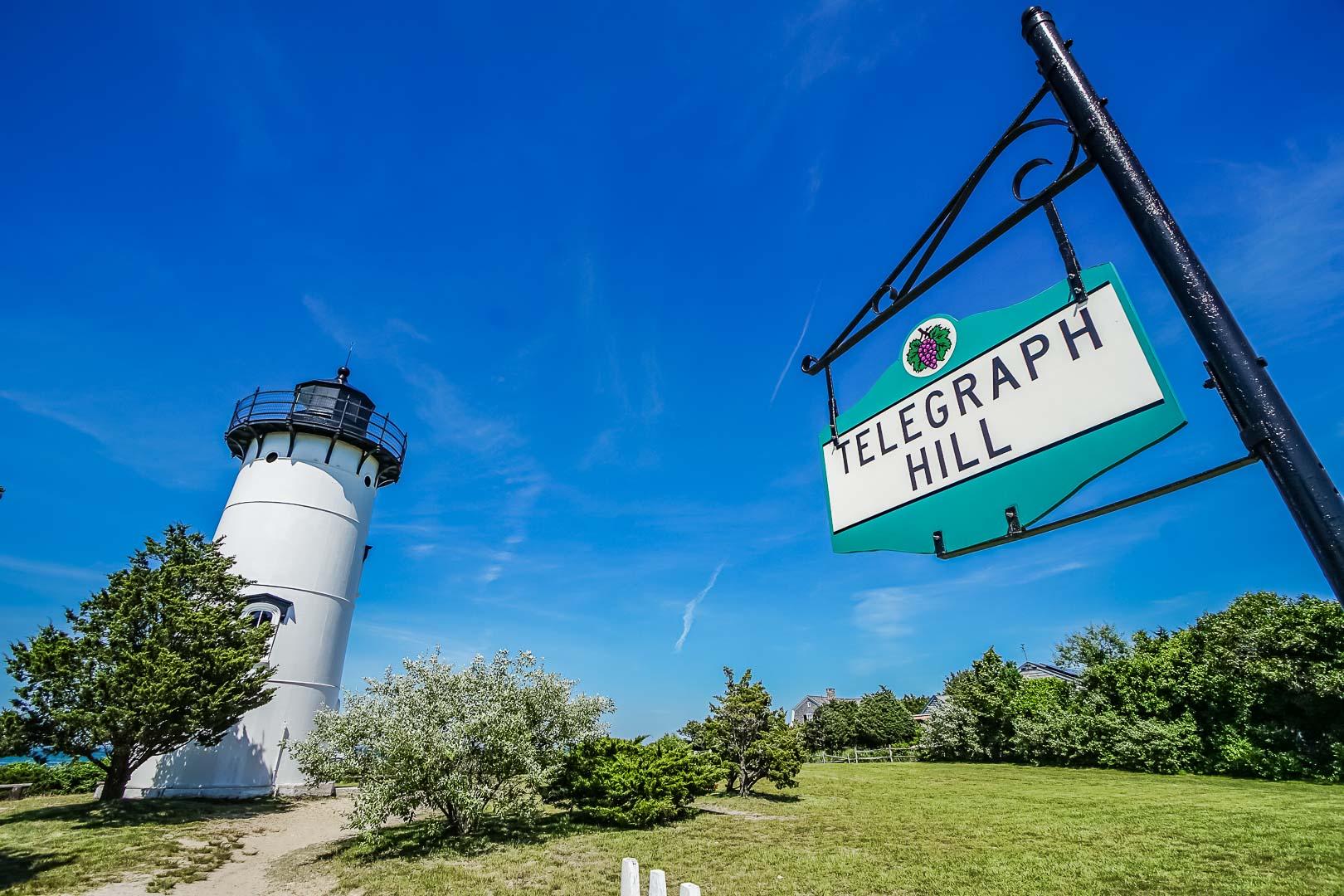 Scenic views from VRI's Harbor Landing Resort in Massachusetts.
