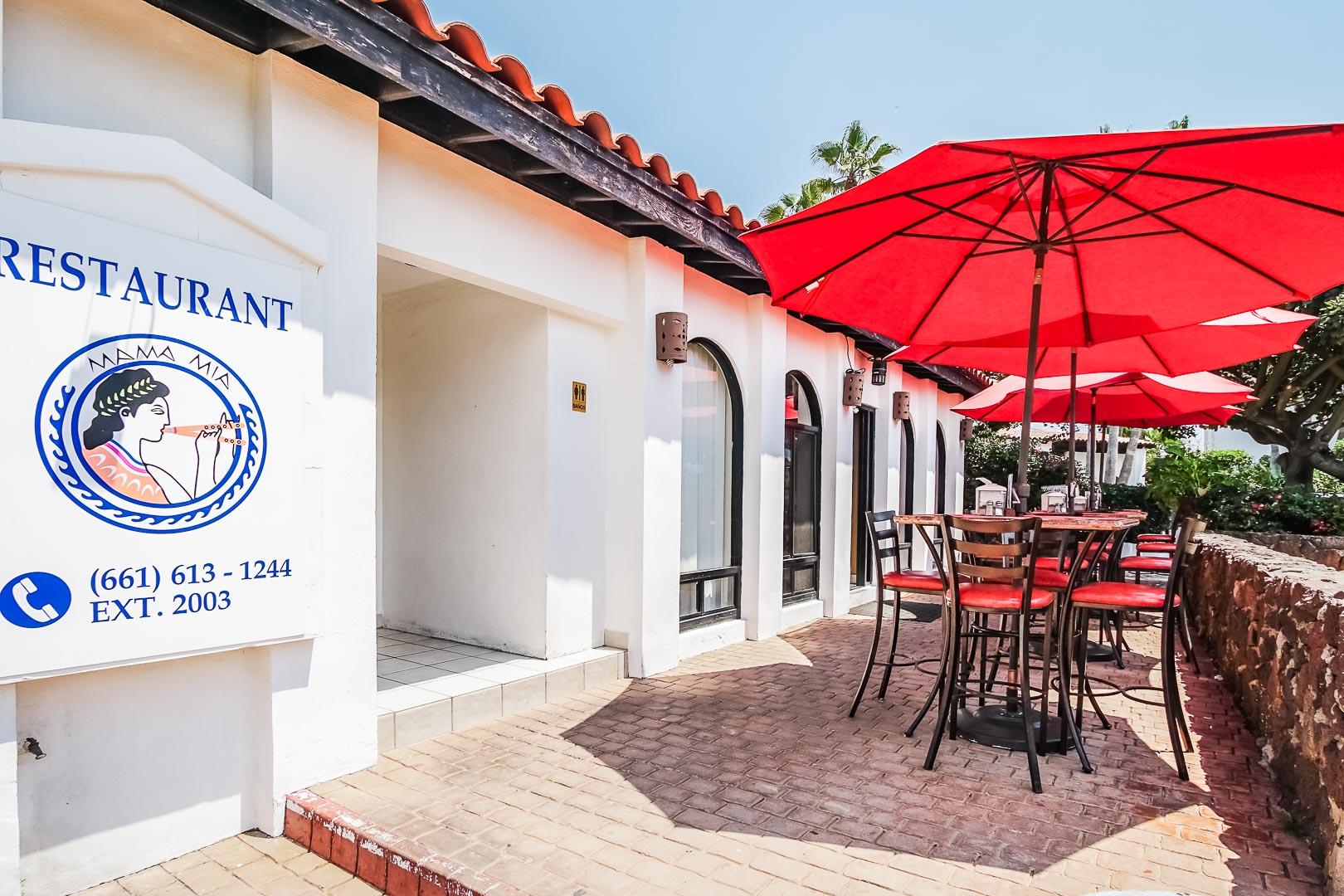 La Paloma - Restaurant Entrance