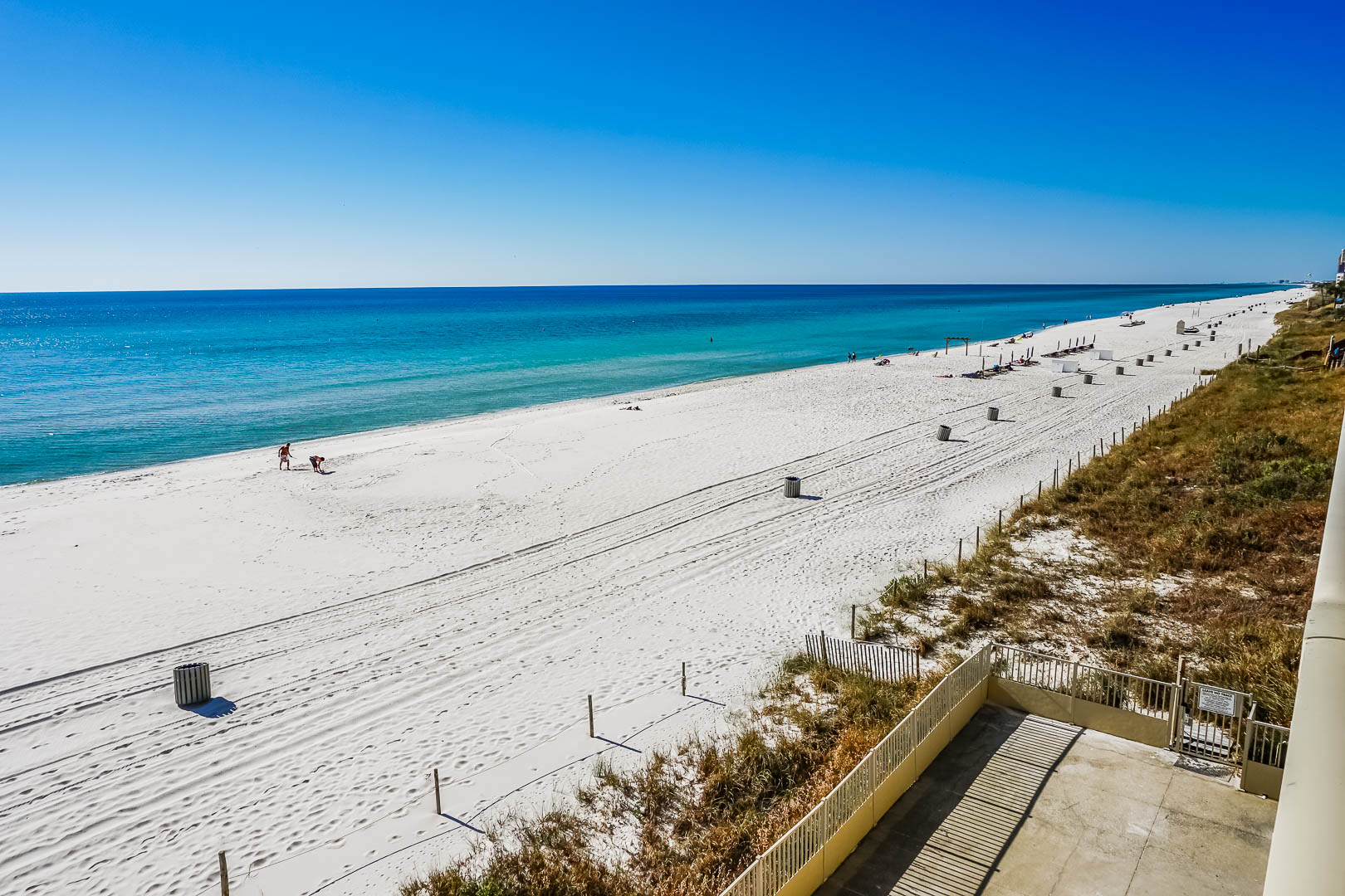 A relaxing ocean view from VRI's Panama City Resort & Club in Florida.