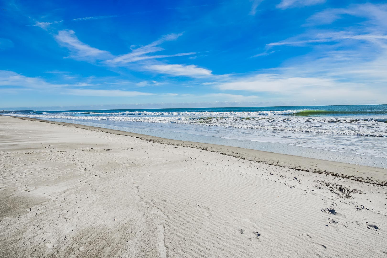A beautiful ocean view at VRI's The Resort on Cocoa Beach in Florida.