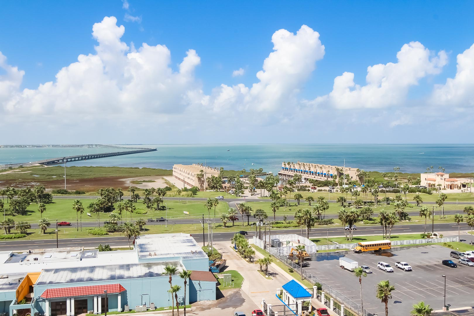 A beautiful view from VRI's Royale Beach and Tennis Club.