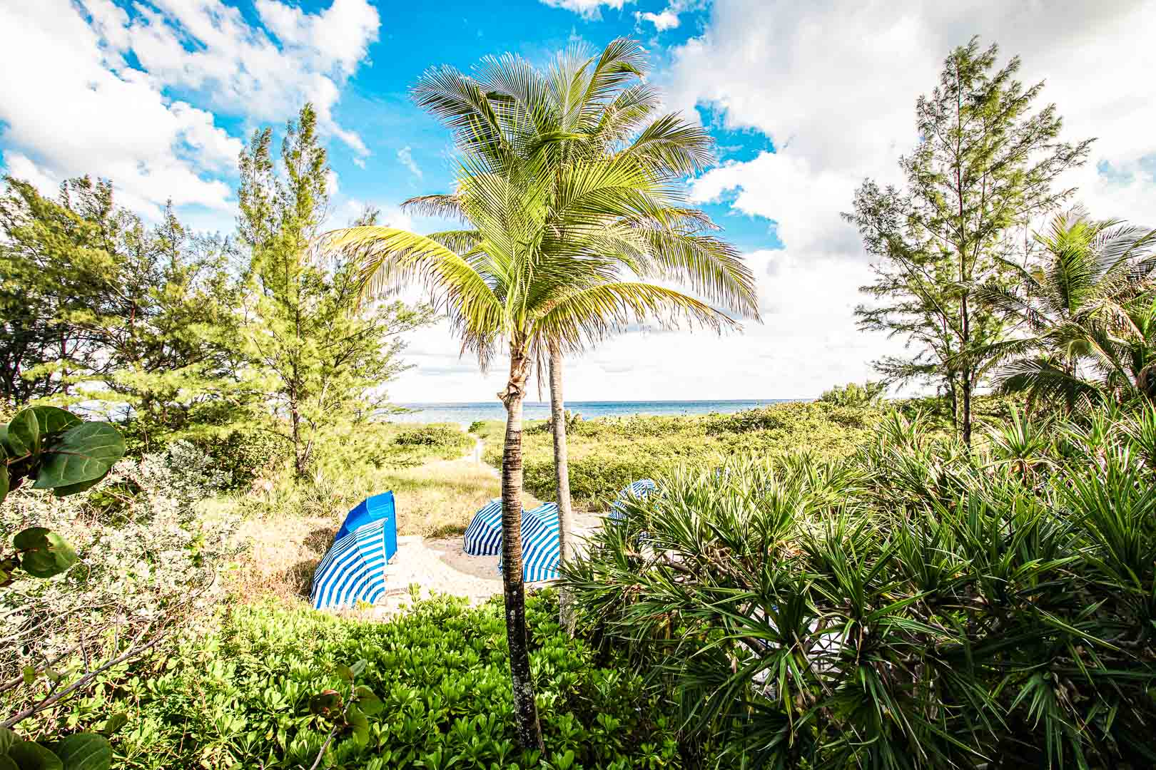 A relaxing view at VRI's Sand Dune Shores in Florida.