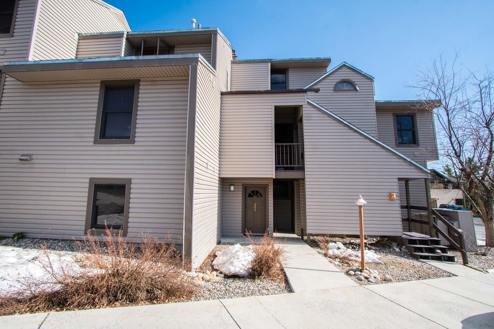 An expansive living room at VRI's Sunburst Resort in Steamboat Springs, Colorado.
