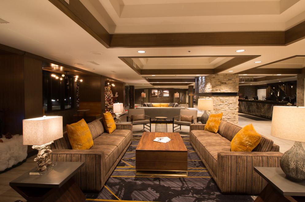 A fully equipped studio unit at VRI's Tahoe Seasons Resort in California.