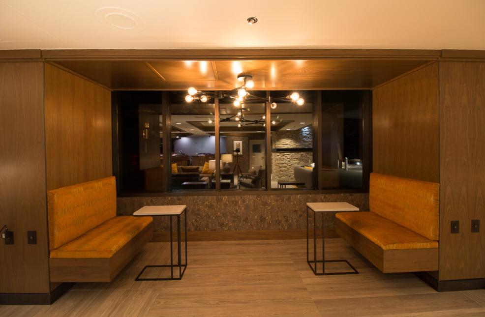 An inviting pub at VRI's Tahoe Seasons Resort in California.