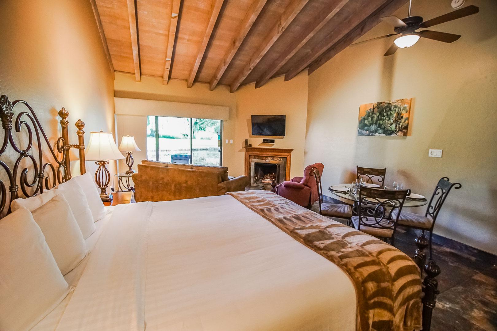 A spacious unit at VRI's Villas at Poco Diablo in Sedona, Arizona.